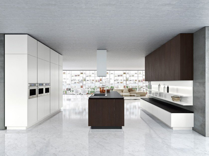 IDEA | Kitchen with island By Snaidero design Pininfarina