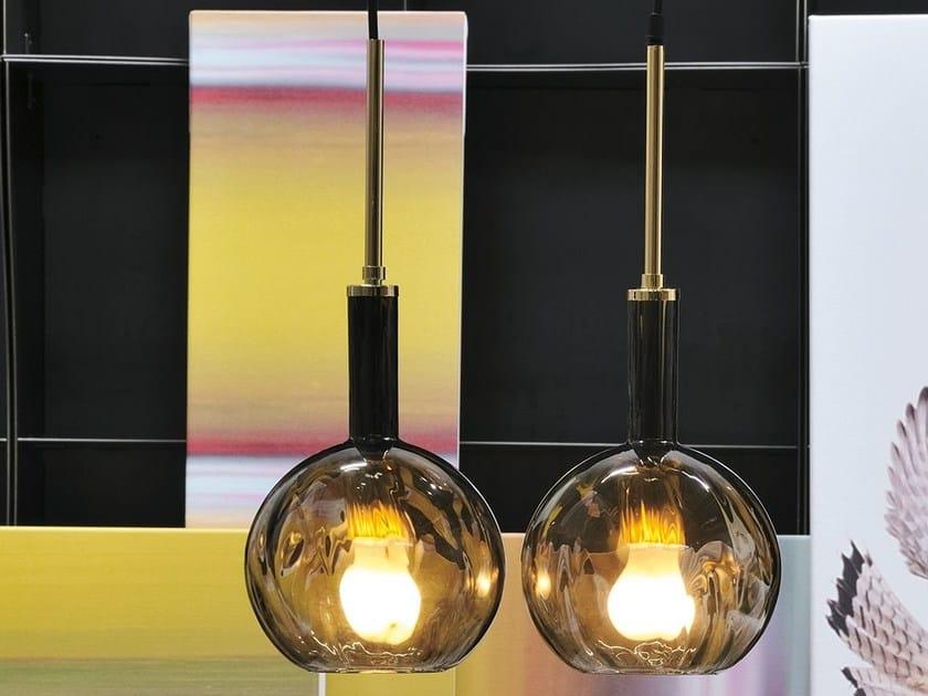 Murano glass pendant lamp IDEM by Adriani e Rossi edizioni
