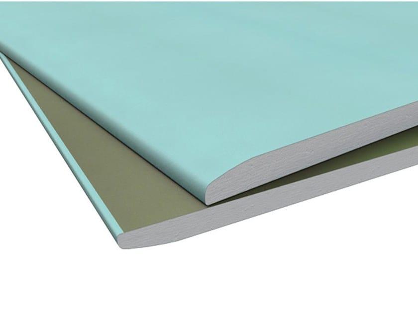 Gypsum plasterboard IDROLASTRA GKI by Knauf Italia