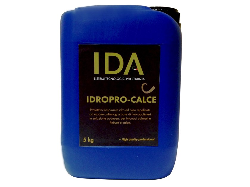 Protection for plasters IDROPRO-CALCE by IDA