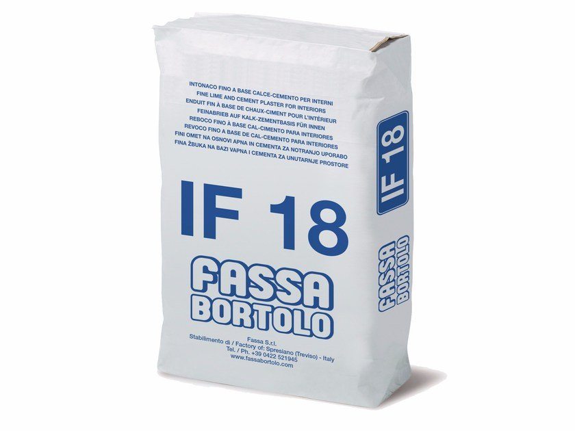 Hydraulic and hydrated lime based plaster IF 18 by FASSA