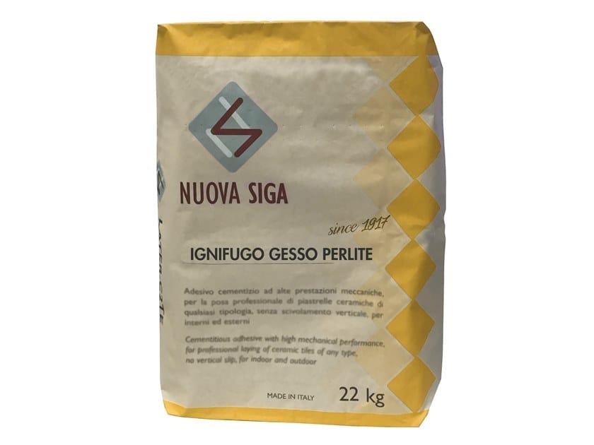 Fire-resistant plaster IGNIFUGO GESSO PERLITE by NUOVA SIGA