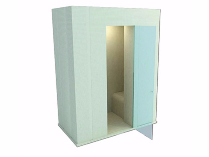 Rectangular shower cabin with tray IGUAZ by Butech