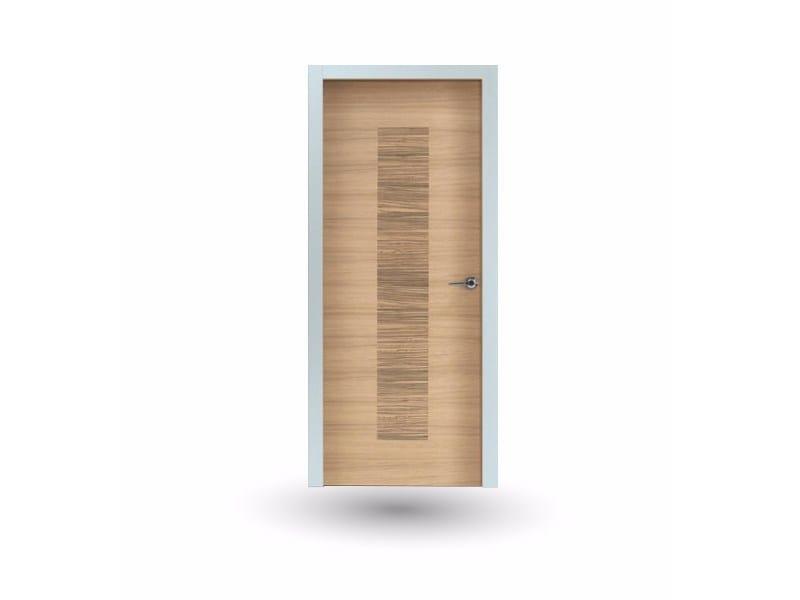 Hinged wooden door IKI 88G ROVERE GHIACCIO by GD DORIGO