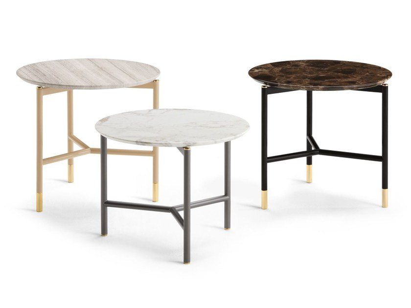 Marble coffee table IKO | Coffee table by Flou