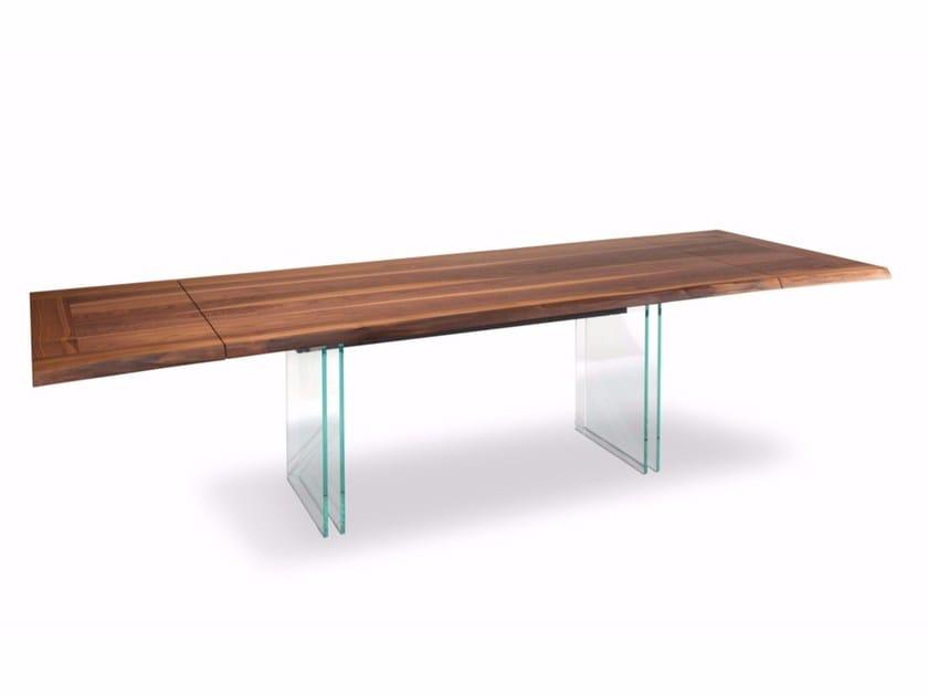 Extending rectangular table IKON DRIVE by Cattelan Italia