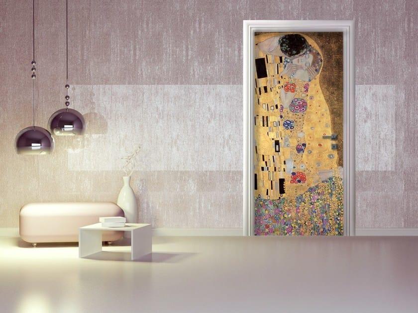 Door sticker IL BACIO DI  GUSTAV KLIMT by MyCollection.it