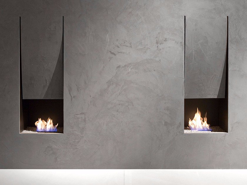 Steel Boiler fireplace IL CANTO DEL FUOCO® by Antonio Lupi Design