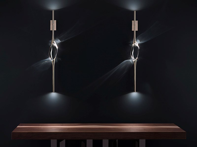 LED crystal wall light IL PEZZO 12 | Wall sconce by Il Pezzo Mancante