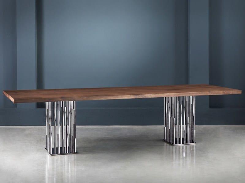 Rectangular custom table IL PEZZO 9 | Table by Il Pezzo Mancante