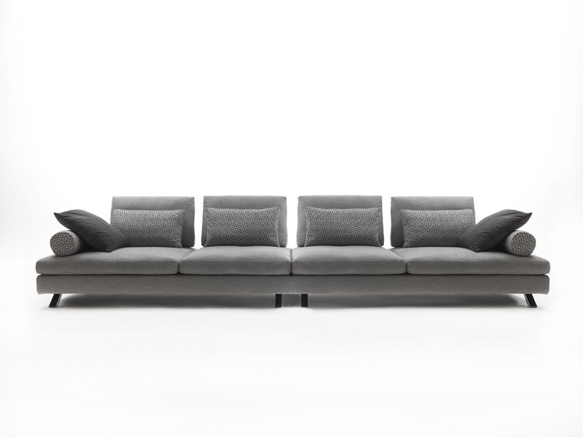 6 seater fabric sofa IL VOLO | Fabric sofa by Flexstyle