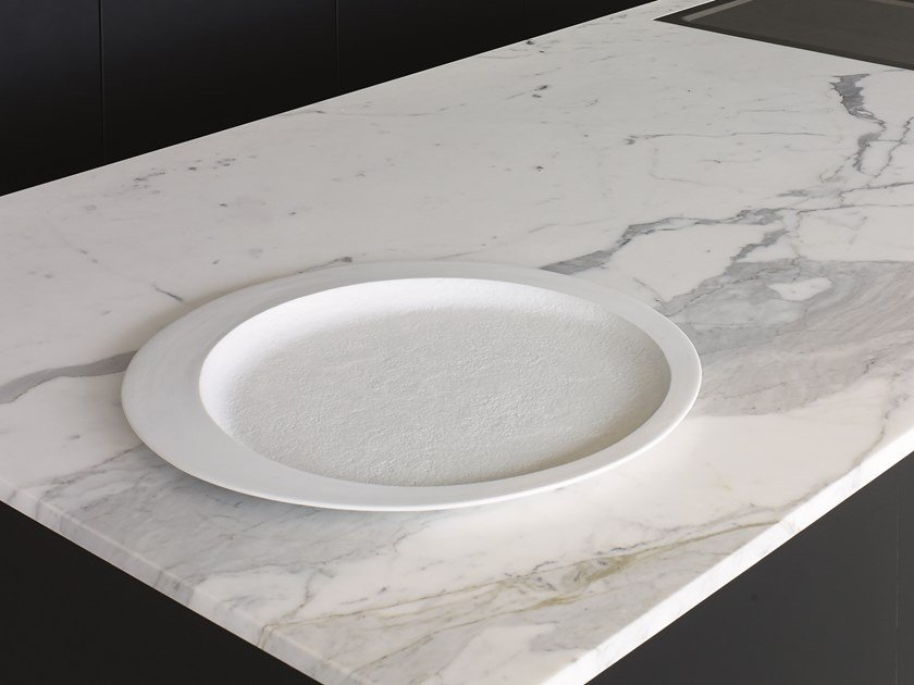 Centrotavola in porcellana ILLUSIO by Gardeco