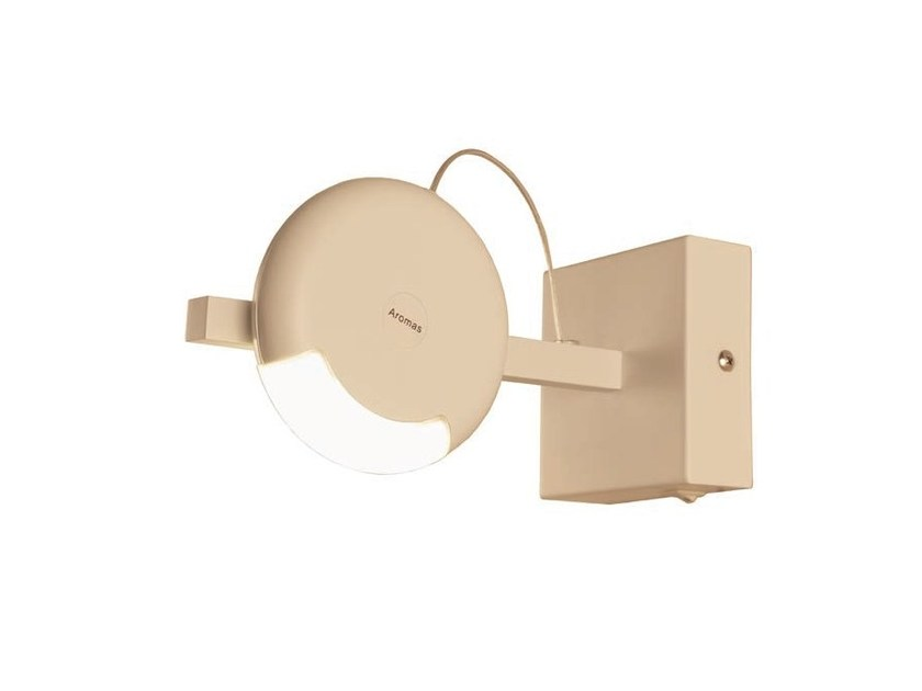 LED adjustable metal wall lamp IMAN | LED wall lamp by Aromas del Campo