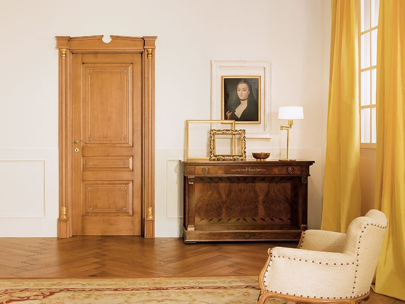 Solid wood door IMPERO by LEGNOFORM