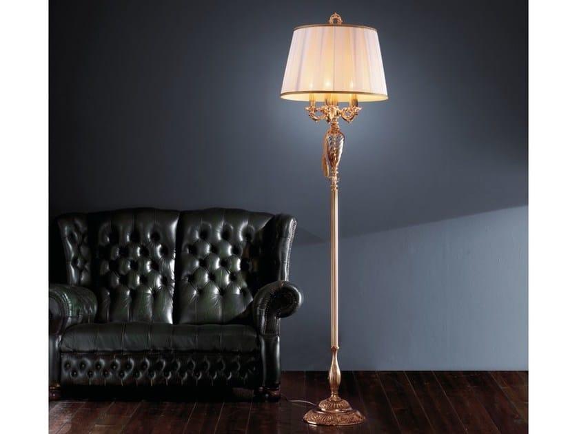 Floor lamp with Swarovski® crystals IMPERO PT5 by Euroluce Lampadari