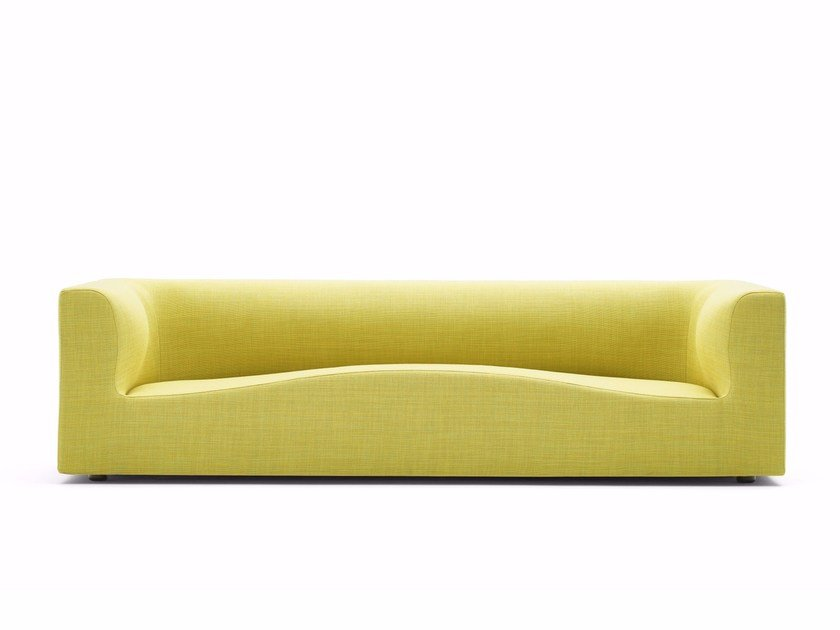 3 seater fabric sofa IMPRONTA | Sofa by Varaschin
