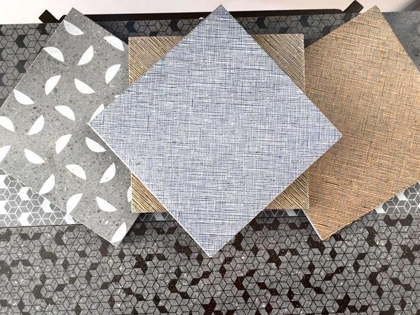 Lava stone wall tiles / flooring IMPUNTURE by Sgarlata