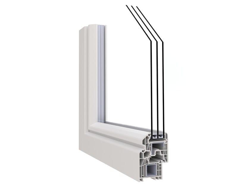 PVC thermal break window IN'ALPHA PRESTIGIO | PVC window by ALPHACAN