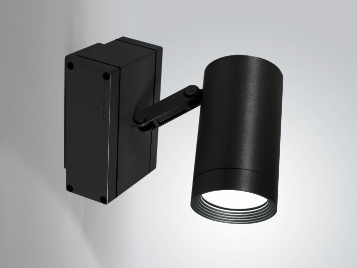 Adjustable extruded aluminium Outdoor spotlight IN-OUT by LUCIFERO'S