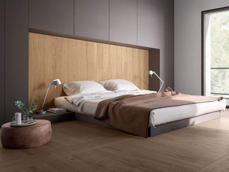 Porcelain stoneware wall/floor tiles with wood effect IN-WOOD by Panaria Ceramica