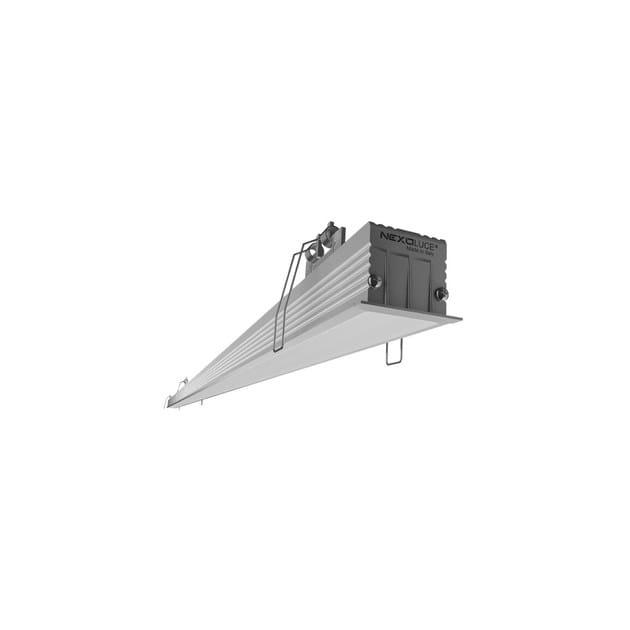 Recessed LED aluminium ceiling lamp INCASSO IP65 by NEXO LUCE