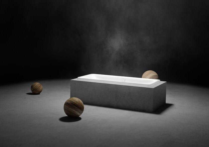 Vasca da bagno in acciaio smaltato da incasso incava by kaldewei italia design anke salomon - Vasche da bagno kaldewei ...