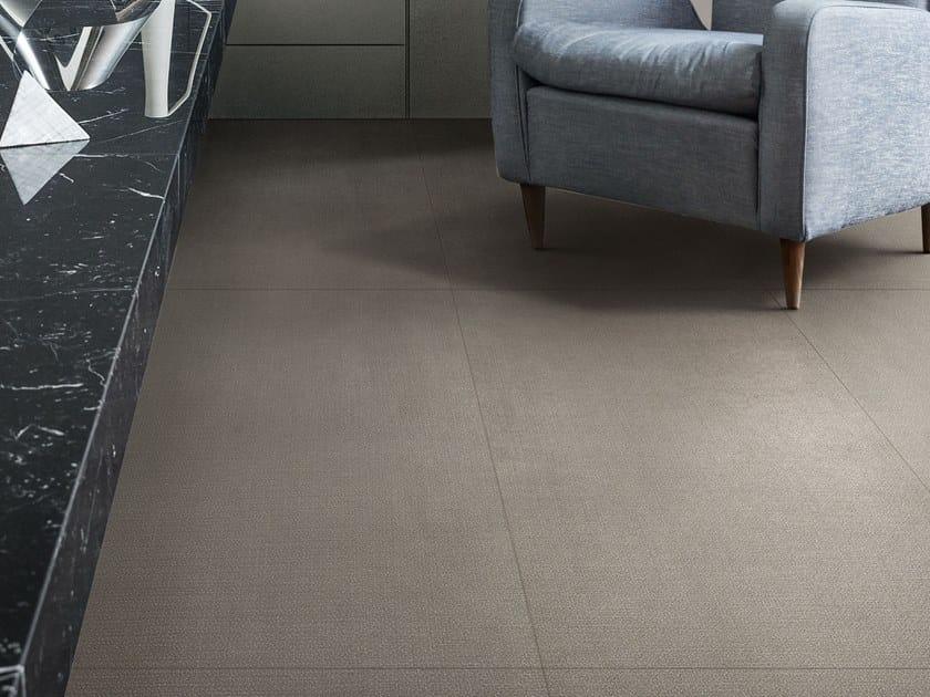 Porcelain stoneware flooring with textile effect INCIPIT | Flooring with textile effect by Valentino by Ceramiche Piemme