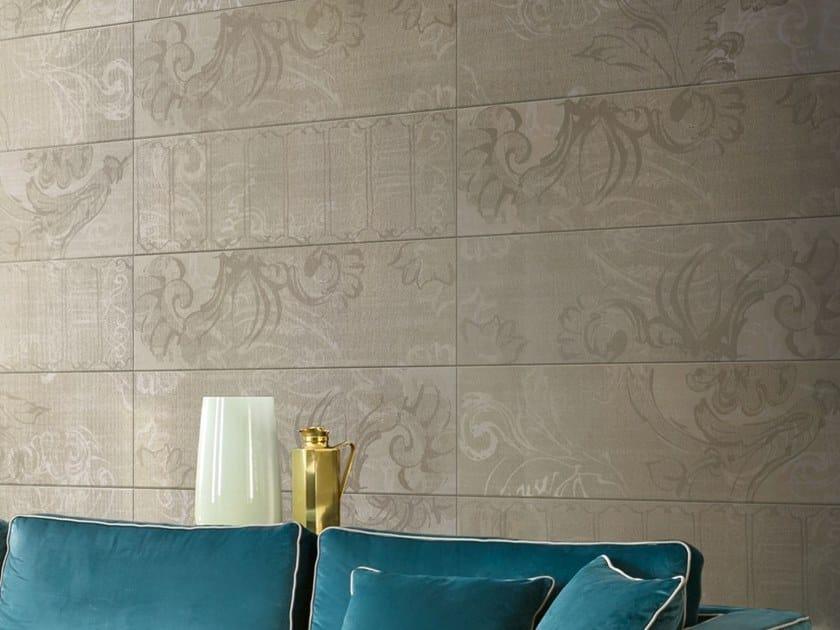 Porcelain stoneware wall tiles with textile effect INCIPIT | Wall tiles with textile effect by Valentino by Ceramiche Piemme