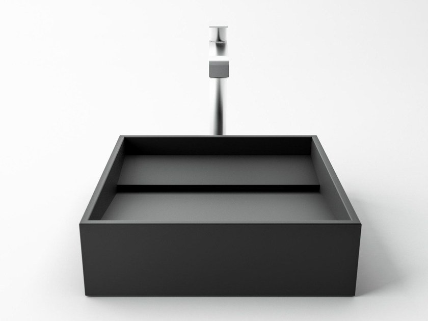 Piano Bagno In Ardesia : Inclinio lavabo in ardesia by filodesign design luca lobati