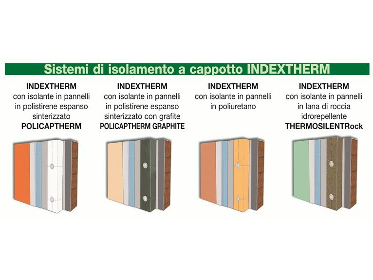 Exterior insulation system INDEXTHERM by INDEX