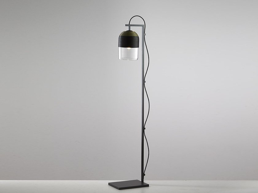Lampada da terra fatta a mano a LED INDI   Lampada da terra by Articolo Lighting