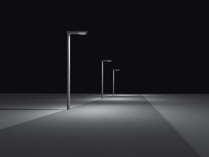Poste de luz LED de alumínio INDICTA by Artemide