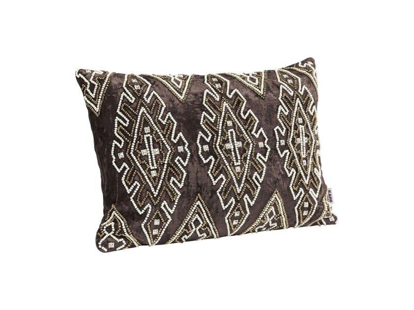Rectangular fabric cushion INDIGO DELUXE by KARE-DESIGN