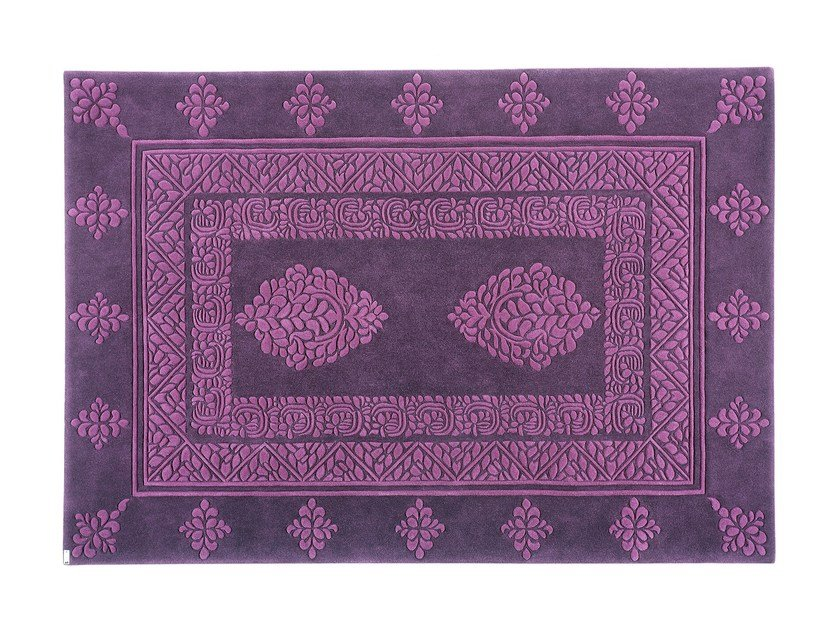 Rectangular rug INDORE by OT Oliver Treutlein