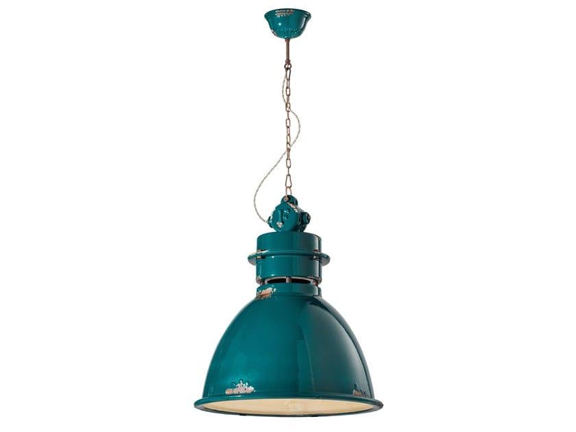 INDUSTRIAL | Lampada a sospensione in materiali ceramici