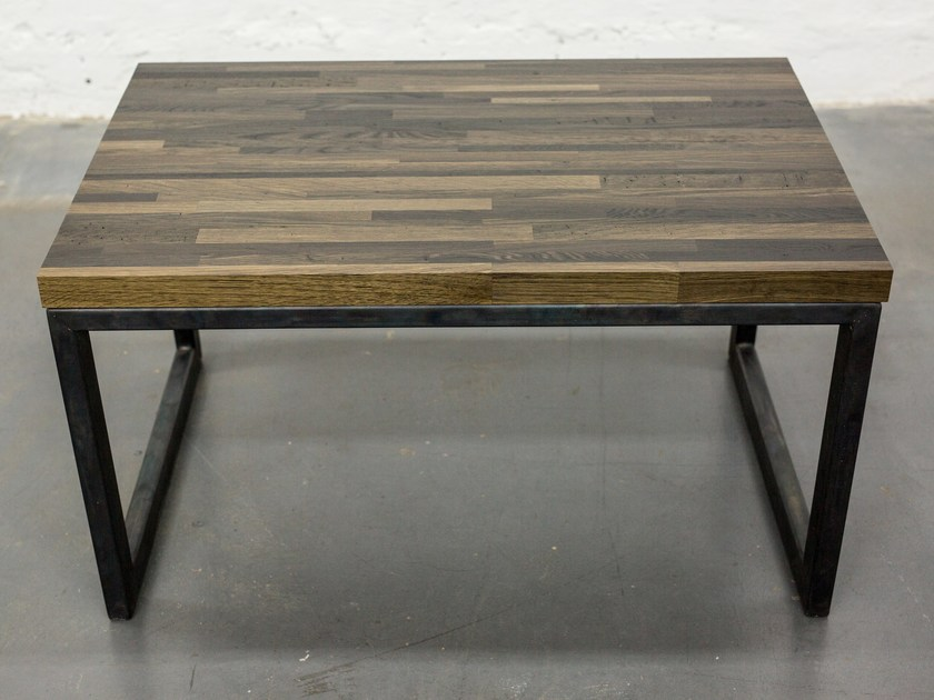 Sled base bog oak coffee table INDUSTRIAL | Sled base coffee table by EDWOOD