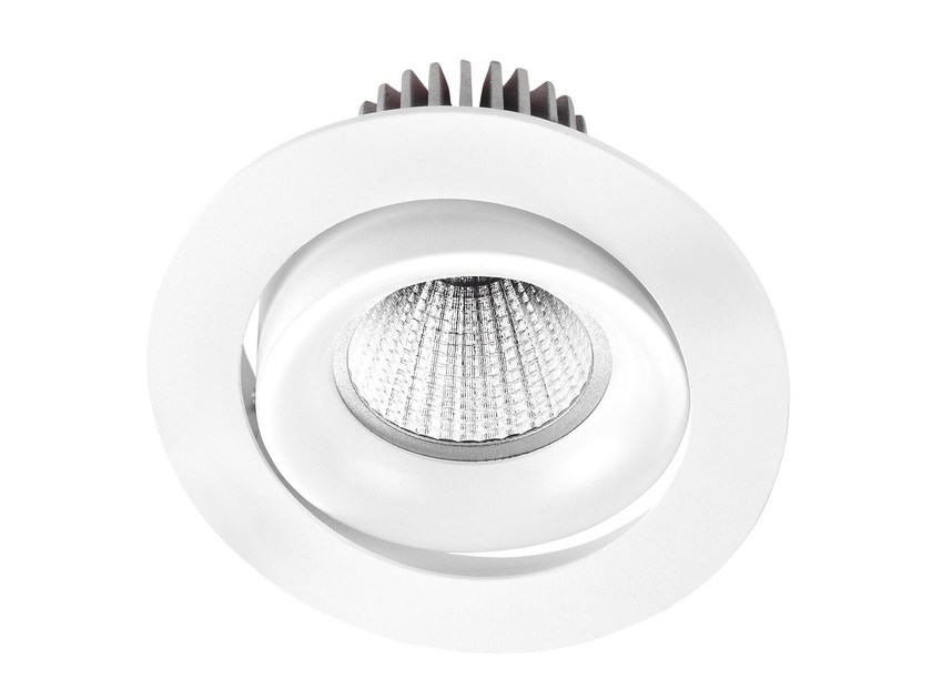 LED recessed aluminium spotlight INEL XL by LED BCN