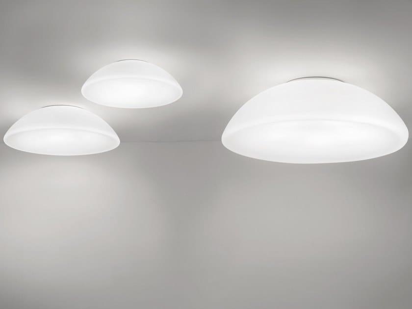 Glass ceiling light INFINITA PL by Vetreria Vistosi