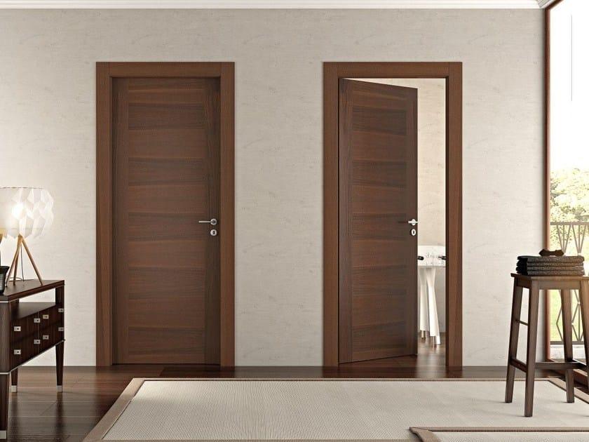 Hinged wooden door INFINITA by Pail Serramenti