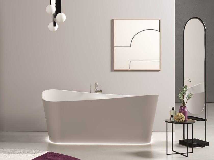 Vasca da bagno ovale INFINITIVE by NOVELLINI