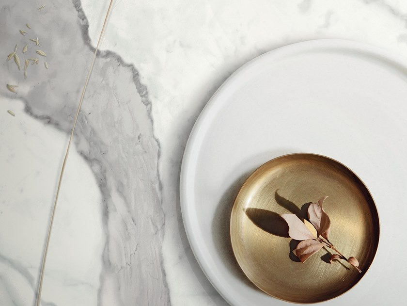 Wall/floor tiles with marble effect INFINITO 2.0 STATUARIO | Wall/floor tiles by CERAMICA FONDOVALLE