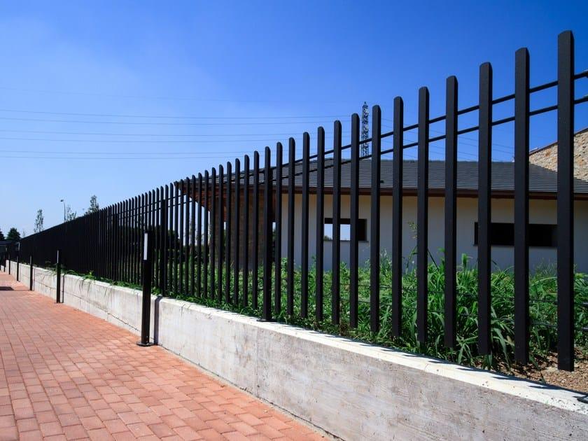 Bar steel Fence INFINITY® by GRIGLIATI BALDASSAR