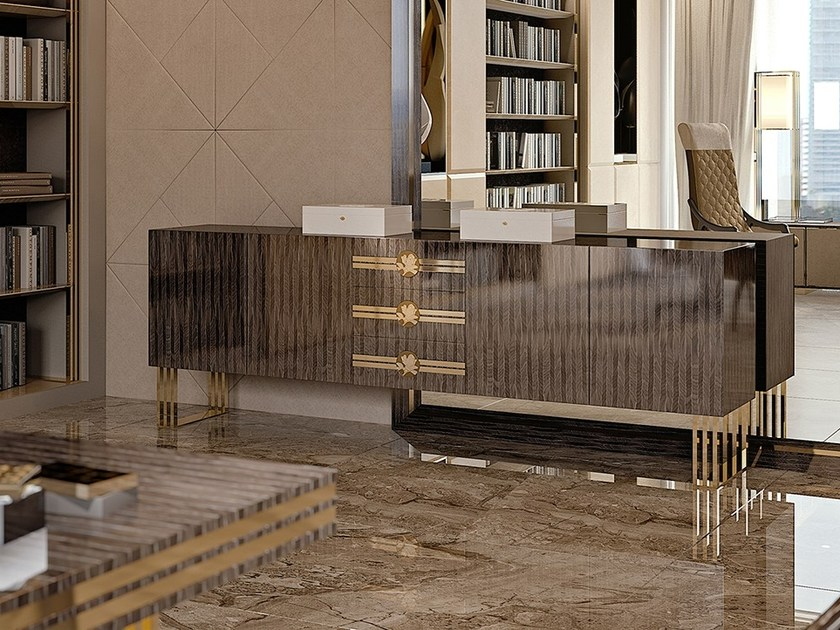 Lacquered sideboard with drawers INFINITY | Sideboard by Bizzotto