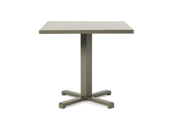 Square aluminium garden table INFINITY | Table by Ethimo