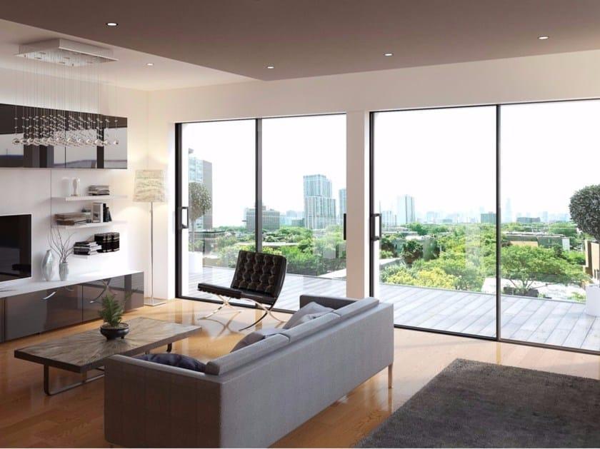 Aluminium sliding window INFINIUM by ALUK Group