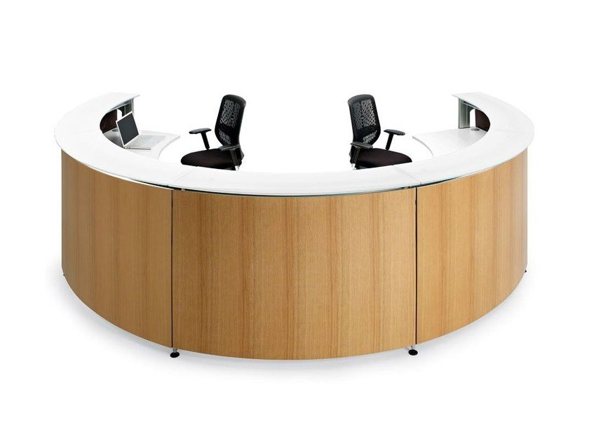 Modular Office reception desk INFORMA by ACTIU