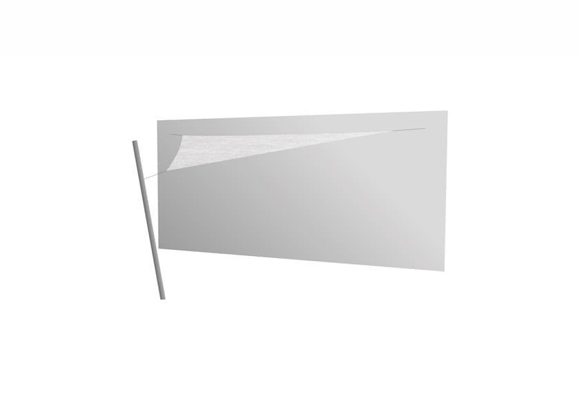 Ingenua triangle shade sail Marble