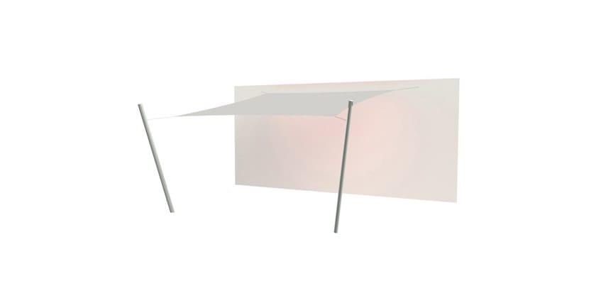 Ingenua square shade sail Canvas