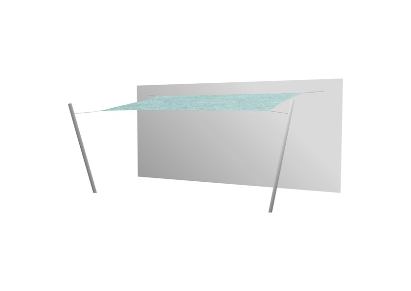 Ingenua rectangle shade sail Curacao