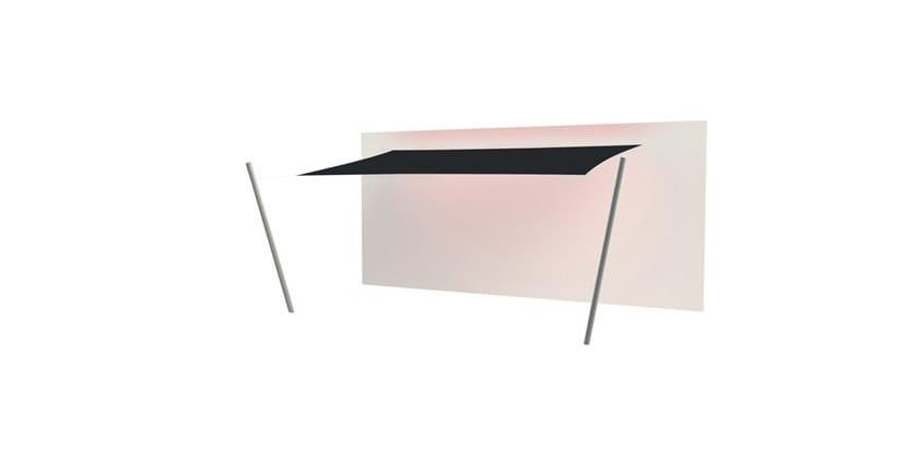 Ingenua rectangle shade sail Black